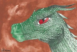 Green Dragon by Aryncoryn