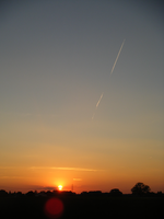 july sunset I by Lucy-Redgrave