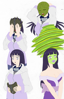 Hinata Becoming the Mask Colored by Firingwall