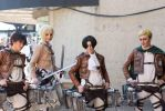 Attack on Titan cosplay by ZombieQueenAlly