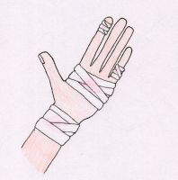 Injured Hand by Dancing1233