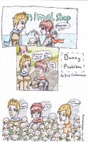 Bunny problem 1P and 2P Netherlands by AnnHolland