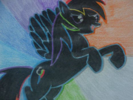 Rainbow Dash Drawing 2 by LolguyBrony