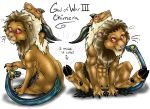 GoW3 - Lil Chimera by shaloneSK