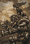 dieselpunk robot by chaingunchimp