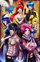 Fairy Tail by TyrineCarver