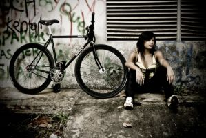 I love my Bike 2 by bumariffin