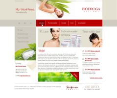cosmetic webiste by luqa
