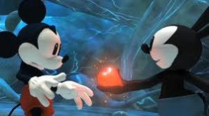 Oswald And Mickey's heart by oswald-luver