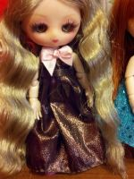 Brown new years dress by Donttouchmykitty