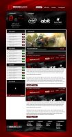 Simplicix Gaming Website by zblowfish