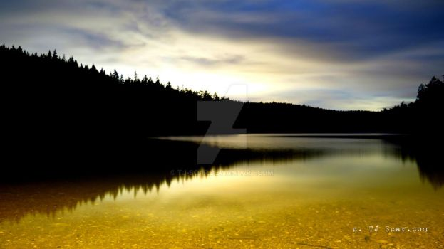 Yellow Lake (not a manipulation) by TJ-Scar