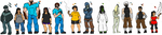 Minecraft-Quick Colors Line-Up by SilentAugust