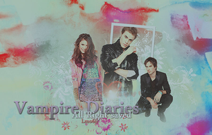 Vampire diaries by lmo6ii