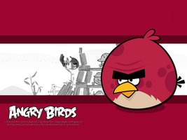 Angry Birds Big Brother Bird Wallpaper by Jeremiekent13
