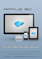 Apple 3D by Puzjaka