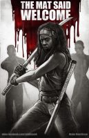 Michonne by pinkhavok