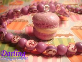 purple macaroon by leggsXisXawsome