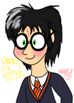 Harry Potter Chibi-ish Thing by WolfRusher