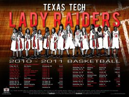 10 ttu womens basketball by Satansgoalie