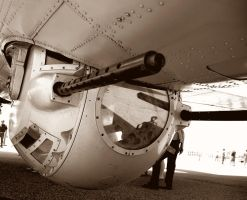 Boeing B-17G Flying Fortress 909 9 Ball Turret Sep by StormbringerPhoto