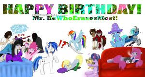 Happy Birthday He Who Erases Most!!! by dadio46