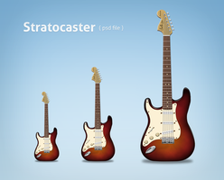 stratocaster Classic psd by LeMex