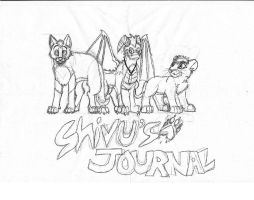 New Journal Skin Sketch x3 by Sooty123