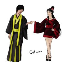 Resa and Park Jung Min by Cel13
