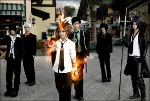 Vongola family by CosLove