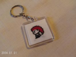 Double Sided Team Rocket Key Chain by agorby00