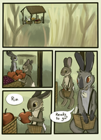 Crossed Claws page1 by geckoZen