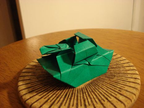 Origami Tank by afrokenshi