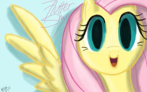 Fluttershy Headshot (REVISED) by ApriLexi
