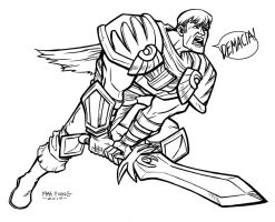 A to Z: Garen by TheCaybo