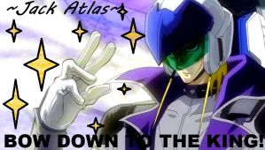 Jack Atlas Wallpaper: Bow Down To The King 2 by TheBlackRoseWitch