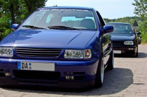 VW Polo 6n and Golf 3 by Cobra1986