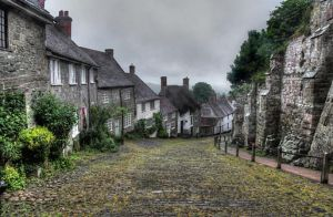 Gold Hill in the rain, Day 163 by Anarzer
