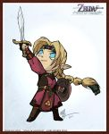 Zelda - FourSwords Style by lord-phillock