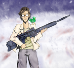 Otacon by Sparkle-arkle