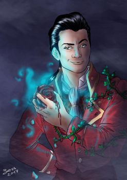 Gaston_The Beauty and the Beast by Bess93