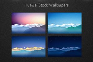 Huawei Stock Wallpapers by alexgal23