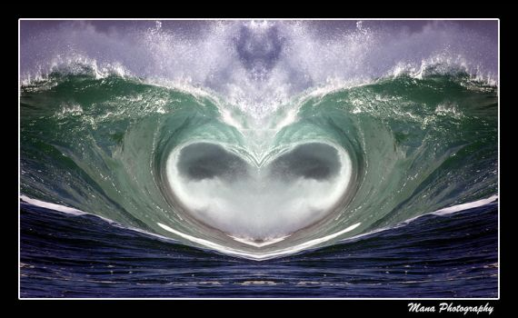 Wave Hart 2 by manaphoto