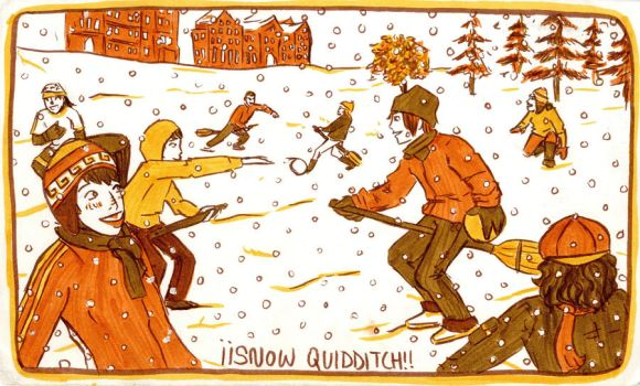 Jigamaree 10 - Snow Quidditch by Raire