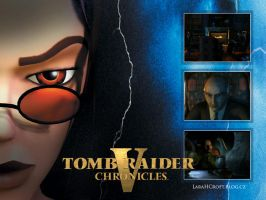 Tomb Raider Chronicles Wallpaper by Charlie-of-LHCblog