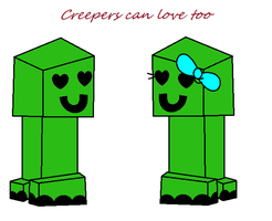 Creepers can love too by xXViolet-FlamesXx