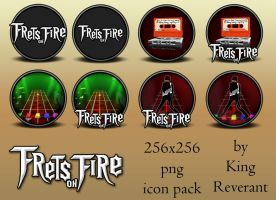 Frets on Fire  png icon pack by KingReverant