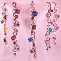 Steel Bell Anklets by SkillfulCreations