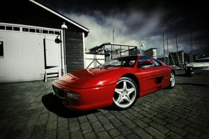 Ferrari 355 - side front - by dejz0r