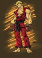 Kung Pow Colored by Kane79